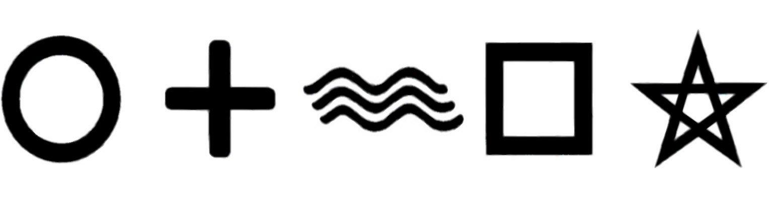 Simboli ESP Zener
