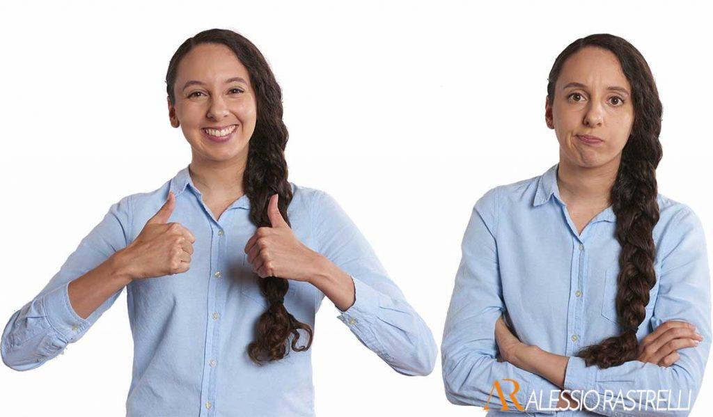 Linguaggio del Corpo, Apertura e Chiusura