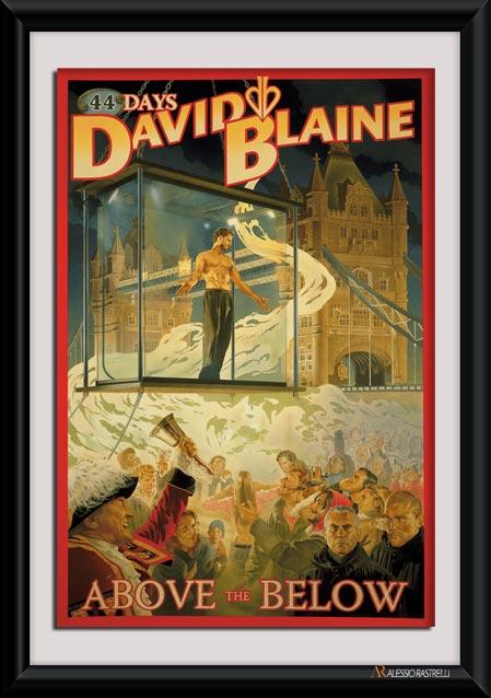 david blaine above the below