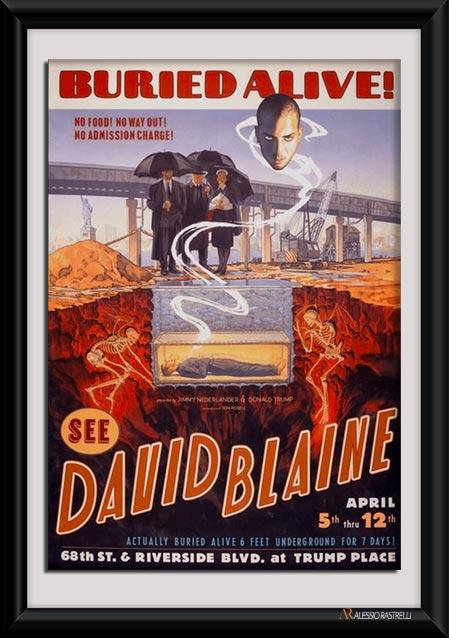 David Blaine Buried Alive