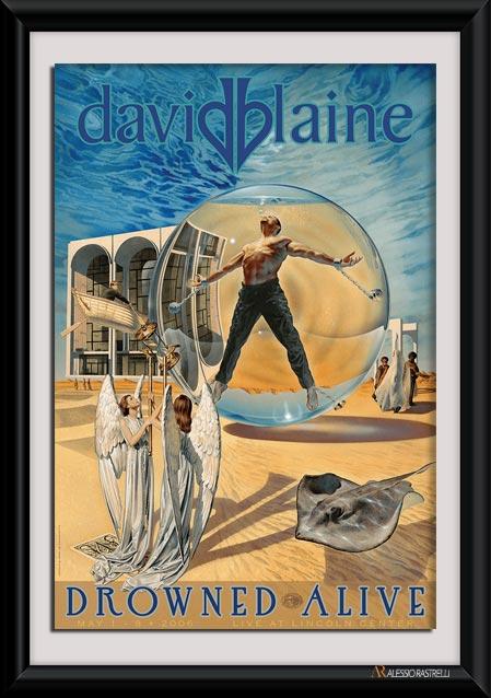 David Blaine Drowned Alive