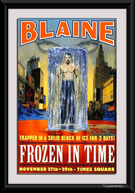david blaine frozen in time